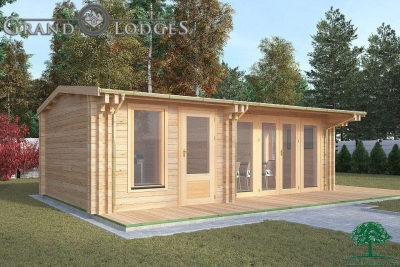Insulated Garden Office - Mull 8.5m x 4.0m - 0538