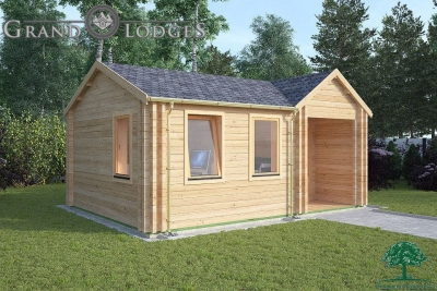 Insulated Garden Office - Iona 5.5m x 4.0m - 0539