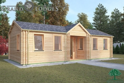 Insulated Garden Office - Staffa 9.0m x 4.0m - 0540