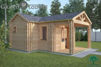 Insulated Garden Office - Galway 5.5m x 7.0m - 0542