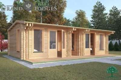 Insulated Garden Office - 8.0m x 4.0m - 0545