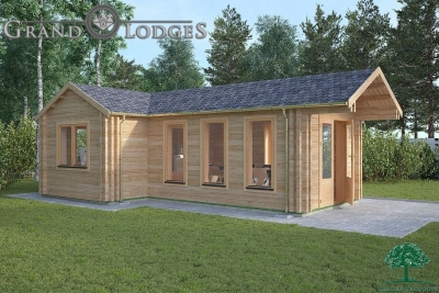 Insulated Garden Office - 5.5m x 7.5m - 0546