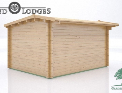 GP Bespoke Log Cabin – 2507 – 4.1m x 3.2m – Palmako Body