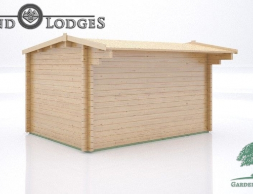 GP Bespoke Log Cabin – 3011 – 4.0m x 3.0m – DF 11