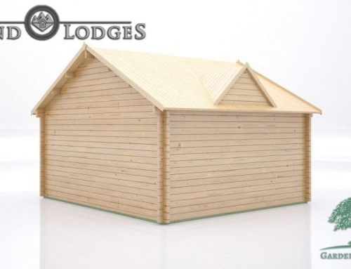GP Bespoke Log Cabin – 2583 – 5.0m x 4.5m – Clockhouse Body